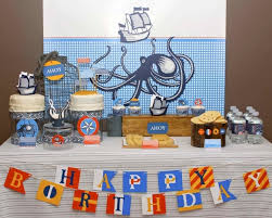 nautical decorations for birthday the finest soft nautical