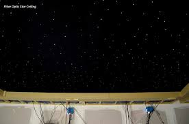 star ceiling fiber optics or painted night sky murals