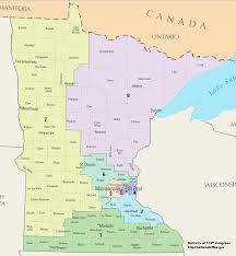 Mn State Park Map by Minnesota U0027s Congressional Districts Wikipedia