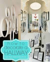 ideas for decorating a small hallway small home decoration ideas