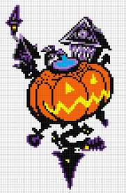 halloween sign templates kh halloween town template minecraft pixel art ideas pinterest