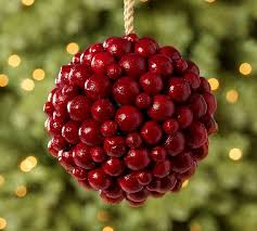 berry sphere ornament pottery barn