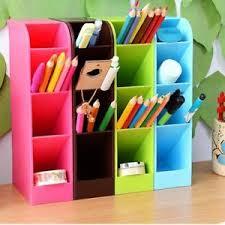 Plastic Desk Organizer 1pcs Plastic Desk Organizer Desktop Office Pen Pencil Holder