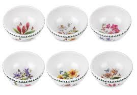 portmeirion exotic botanic garden individual fruit salad bowls