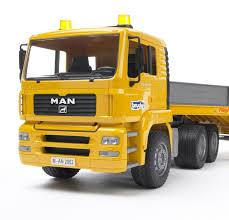 bruder toys logo amazon com bruder toys man tga low loader truck with jcb backhoe
