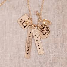 baby name necklace gold minette name charm necklace sted jewelry sted