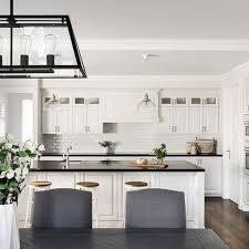 American Kitchen Ideas Classic Hamptons Style White Painted Kitchen Kitchen Designs