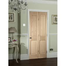 Interior Upvc Doors Jeld Wen Oregon Oak Un Finished Panelled 4 Pnael Bi Fold