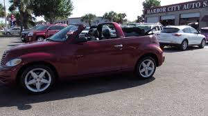used cars melbourne florida 2005 pt cruiser gt convertible youtube