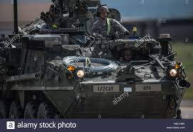 armored vehicles u s army stryker armored vehicles convoy during operations in