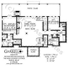 country cottage house plans high country cottage house plan house plans by garrell