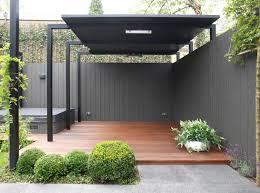 modele jardin contemporain overkapping our garden pinterest terrasses extérieur et patios