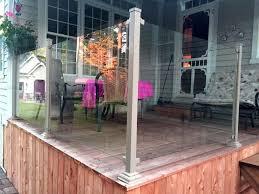 piscine en verre clôture en verre 6mm à partir de 29 95 pied clôtures frontenac inc