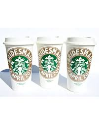 personalized bridal shower gifts amazing deal on starbucks bridesmaid gift bridal shower gift