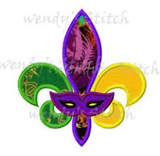 mardi gras items carnival mask applique 3 sizes holidays other machine