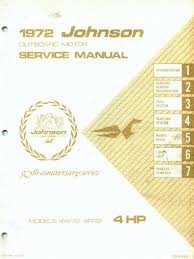 1972 johnson 4hp outboard service manual pdf internal combustion