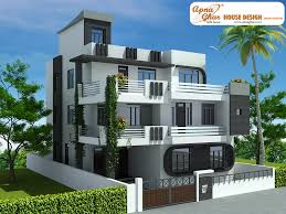Arabic House Designs And Floor Plans 7 Bedroom Modern Triplex 3 Floor House Design Area 240 Sq Mts