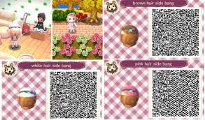 animal crossing new leaf qr code hairstyle acnl qr hair tumblr