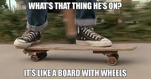 Skateboarding Memes - backtothefuture bttf martymcfly marty mcfly skateboarding