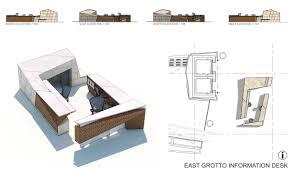 Reception Desk Size by Designing Concierge Desks Methods Of Assembly