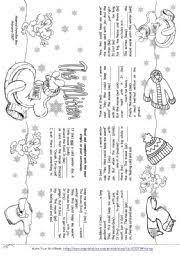 worksheet the mitten story mini book