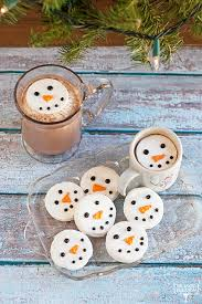 snowman marshmallows snowman marshmallows the baked equation
