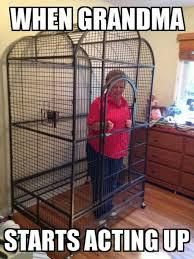 Funny Grandma Memes - when grandma starts acting up funny meme