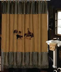 Cowhide Shower Curtain Bring The Wild West To Your Bathroom U2013 Wild West Living