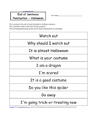 halloween activities writing worksheets enchantedlearning com