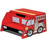 amazon com kidkraft fire truck toddler bed toys u0026 games