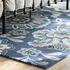 uncategorized brown and blue area rugs ideas with impressive
