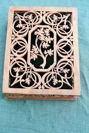 Free Wooden Jewelry Box Plans by Fretwork Patterns Jewelry Box Scroll Saw Patterns Scroll Saw
