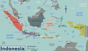 Map Of Jakarta Indonesia Physical Map Map Of Indonesia Wall Map Of Indonesia