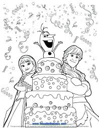 frozen coloring pages olaf sven printable coloring pages