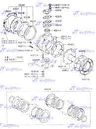lexus lx450 ebay axle steering knuckle rebuild kit for toyota land cruiser fzj80