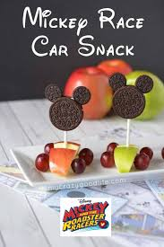 cuisine mickey mickey race car snack and mickey and the roadster racers my