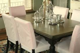 Dining Room Chair Back Covers Fresh Elegant And Modern Slipcovered Dining Chairs 24458