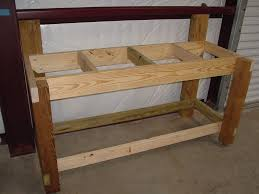 wood workbench legs workbench legs plan ideas u2013 modern table design