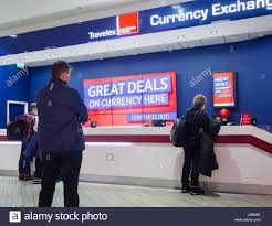 bureau de change manchester travelex stock photos travelex stock images alamy