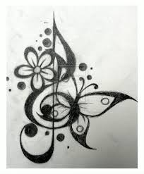 tattoo design treble cleff 1 by dawn773 deviantart com this is