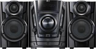 avid home theater lg 200w 3 disc hi fi shelf system black cm3370 best buy
