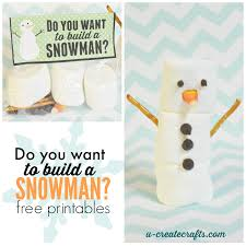 do you want to build a snowman snowman crafts craft kits and