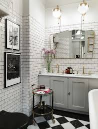 fabulous home bathroom in white tone decoration complete