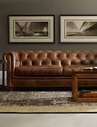 Decorating Ideas For Living Rooms With Brown Leather Furniture by Best 25 Chesterfield Leather Sofa Ideas On Pinterest