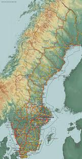 map of sweden country maps sweden