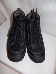 s boots size 12 clarks archeo black hi waterproof leather s boots size 12 m ebay