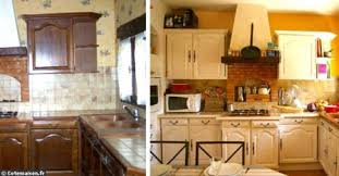 peindre des armoires de cuisine en bois 10 trucs pour rénover et décorer à mini prix rajeunir sa déco en