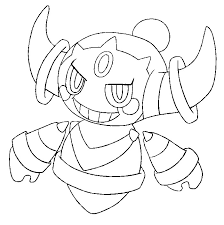 coloring pages pokemon hoopa drawings pokemon