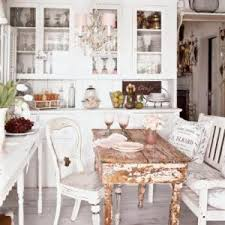 a shabby chic kitchen you can create on a budget