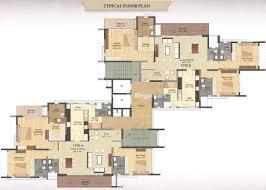 Sobha Jasmine Floor Plan Prestige Deja Vu Frazer Town Bangalore Property Megamart